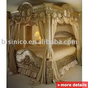 Luxury European Classical Wood Carving Bed, Bedroom Furniture / China  Bedroom Sets For Sale