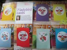 Ladybird Cards Cross Stitch Crazy Issue 127 August 2009 Saved