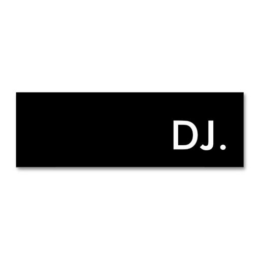 Best DJ Business Card Templates Images On Pinterest Dj - Dj business card template