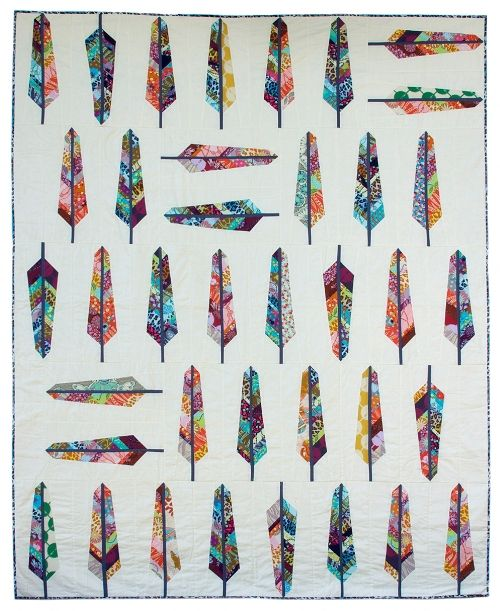 Not that I need another quilting project, but this Feather Bed Quilt pattern by Anna Maria Horner makes me look twice. I'd love to see it in some saturated Marimekko prints I have loitering in my c...