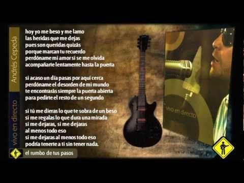 Andrés Cepeda - Vivo en Directo Completo (Letra) / Colombia. Lovely cd...know!