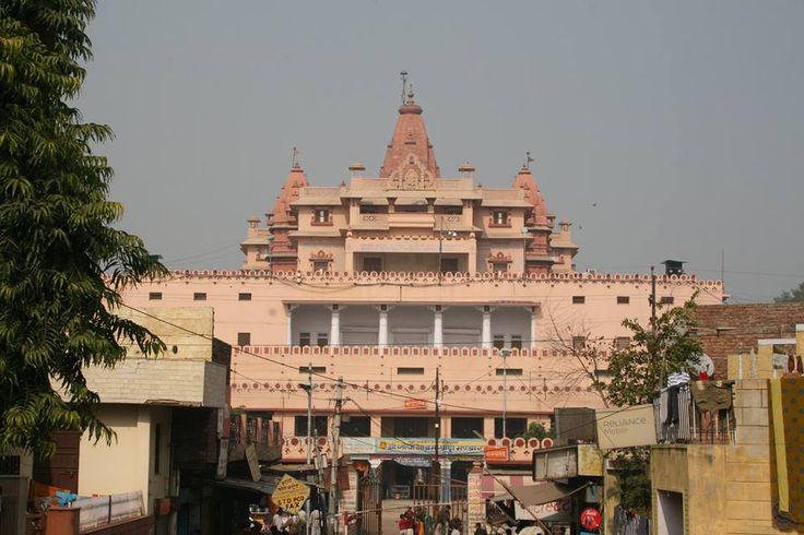 #SHRI Group Cities of Braj  Mathura is the birthplace of Krishna at the centre of Braj or Brij-bhoomi, called Shri Krishna Janma-Bhoomi, literally: 'Lord Krishna's birthplace'.It is one of the seven cities (Sapta Puri) considered holy by Hindus. Mathura was the capital of the Surasena Kingdom, ruled by Kansa the maternal uncle of Krishna.  #Mathura #Braj #History #Birth #Place #Krishna