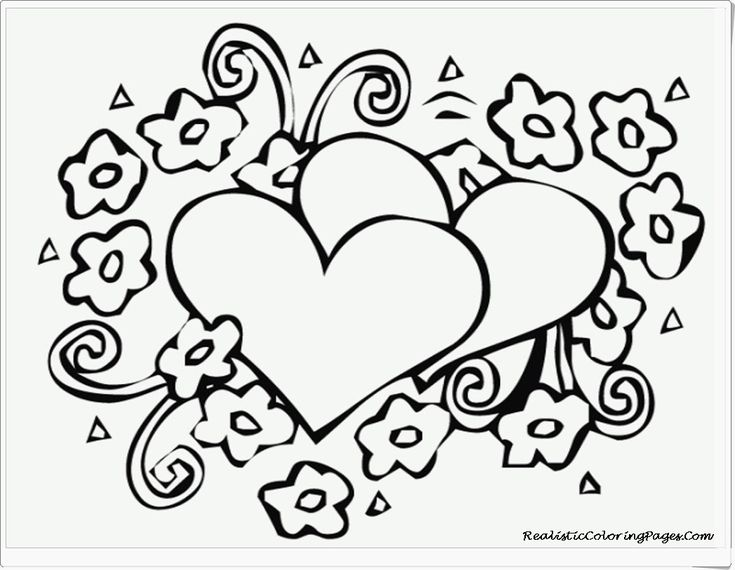 49 best Valentines Coloring Pages images on Pinterest Coloring