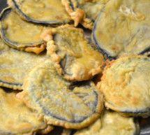 Melanzane fritte in pastella