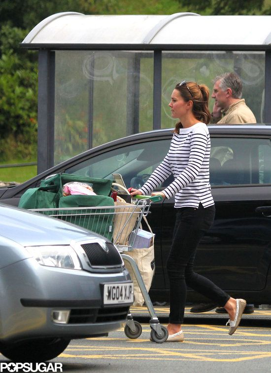 hrhduchesskate:  Duchess Kate: Kate's First Public Outing Since Prince George's Birth August 26, 2013-grocery shopping at the Waitrose in Anglesy