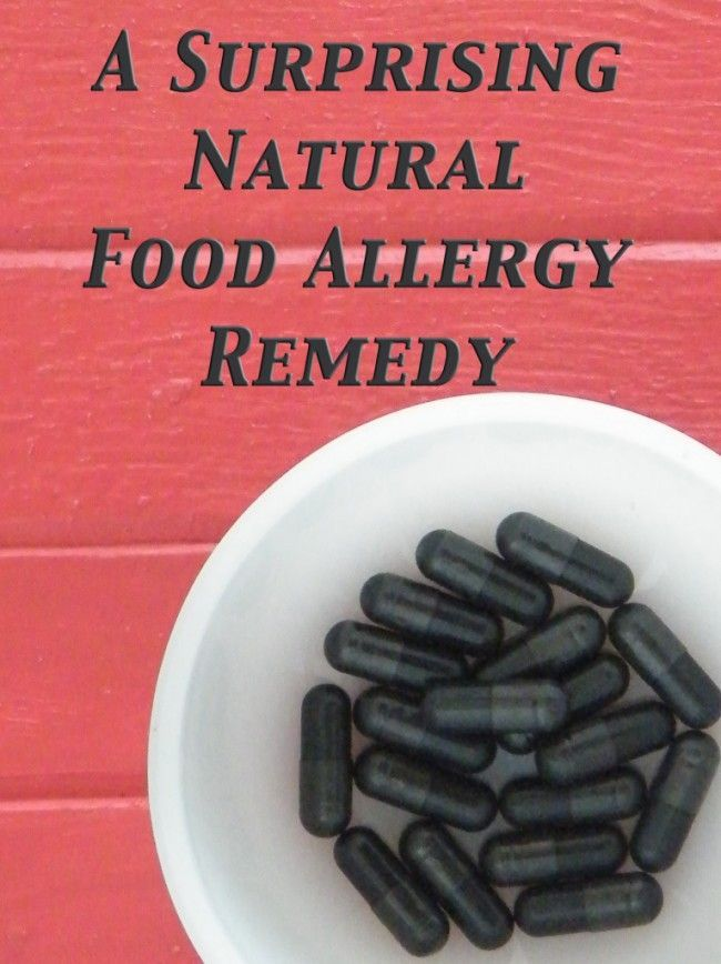 Have you heard of Activated Charcoal? It's a Natural Food Allergy Remedy. Here's Why It Works and How to Use It