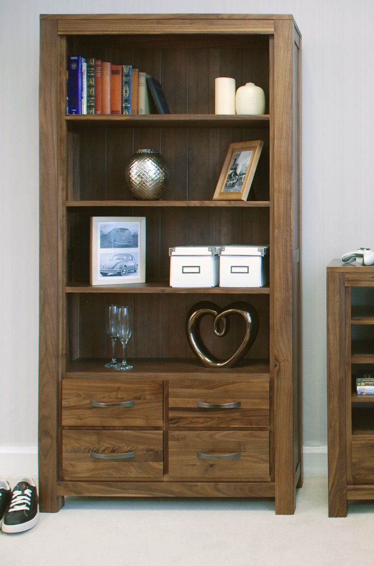 You could win £500 towards this gorgeous Mayan Walnut large 4 drawer bookcase in our Pin to Win competition.  Just see our Pinterest page or main site for more details.