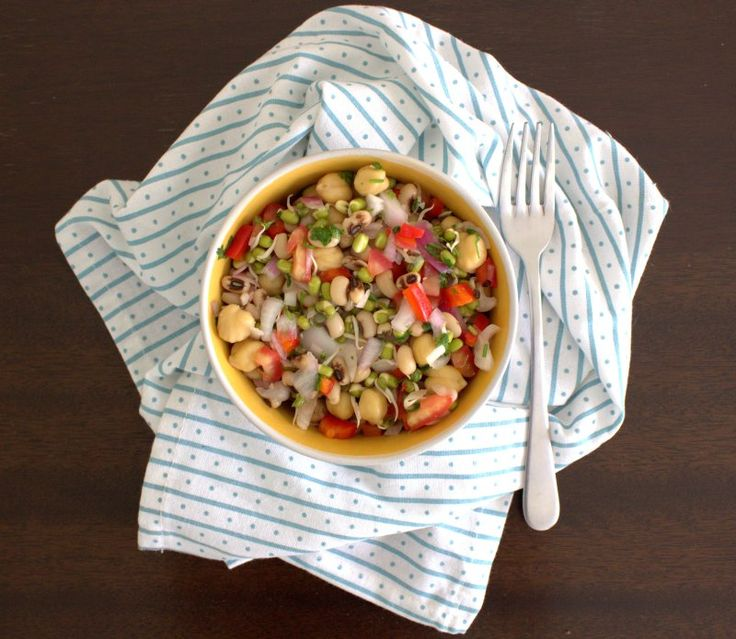 three bean salad - the blurry lime