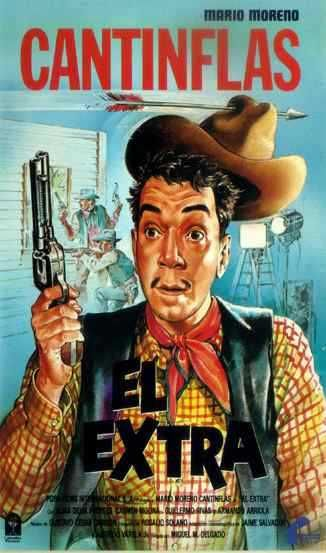 "The Extra (1962) ""El extra"" (original title) Stars: Cantinflas"