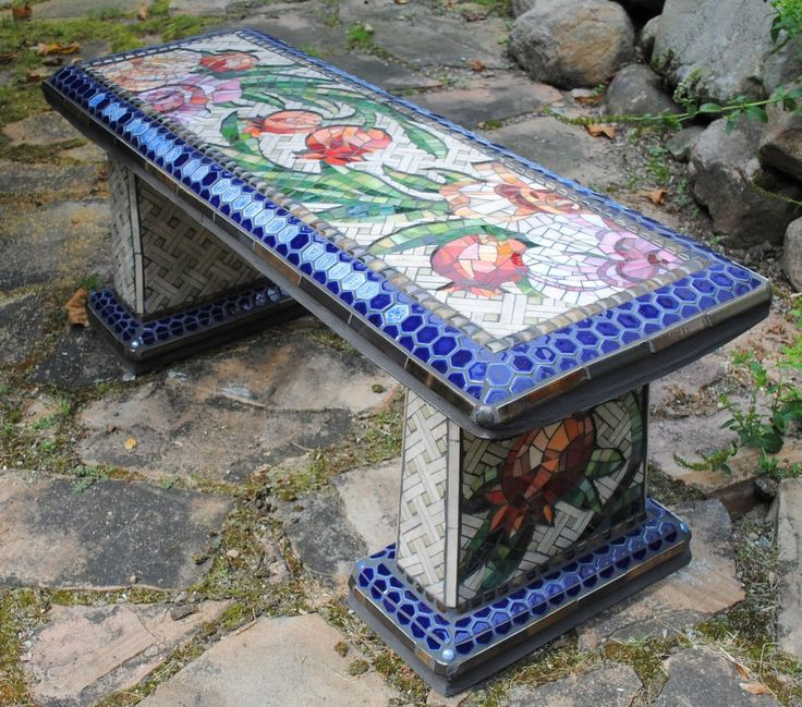 Custom Mosaic pieces and functional art and interactive children's books