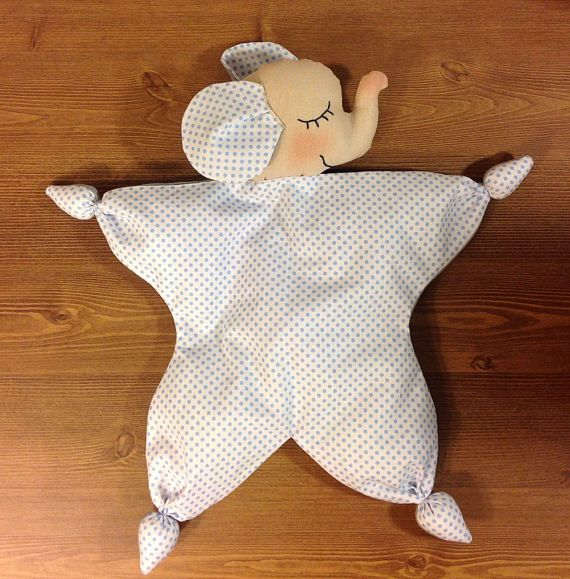 newborn toy nursery toy elephant toy waldorf doll Baby First Toy comforter Organic toy crib toy soft toy elephant baby shower toy cotton toy elephant doll  The first doll for your baby –toy elephant comforter . This toy comforter is best doll for the babies. His hands and feet are two