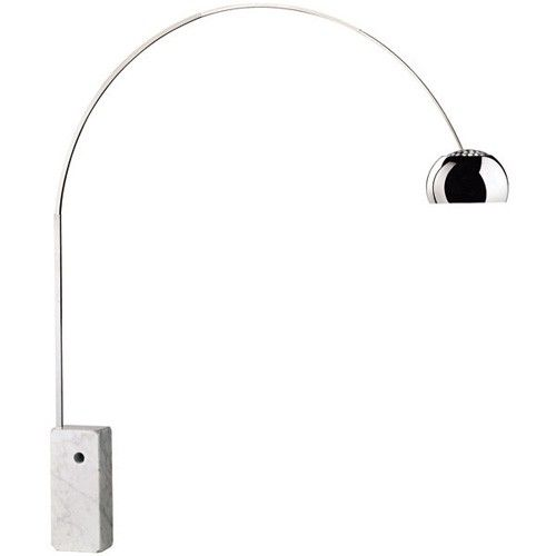 The timeless Arco Lamp perfectly encompasses both form and function. http://www.ylighting.com/flos-arco-floor-lamp.html