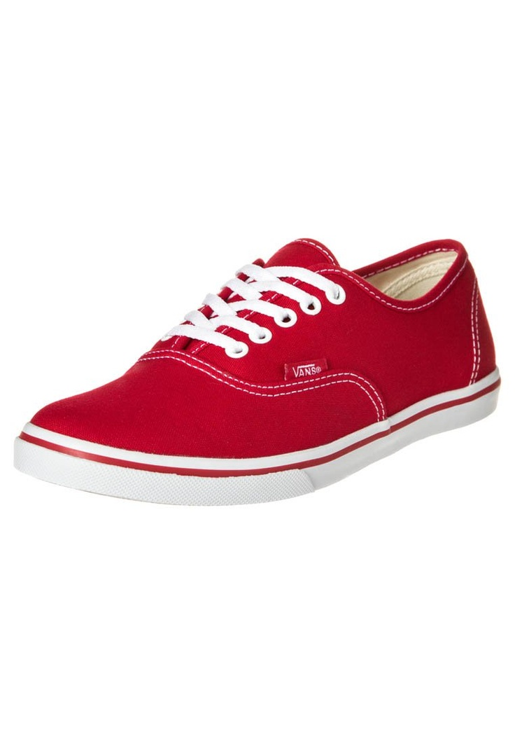 AUTHENTIC LO PRO - Sneaker low - rot