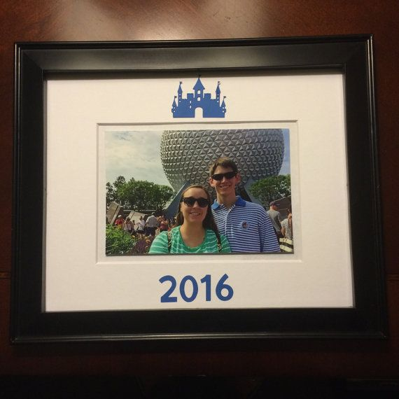 Disney picture frame by AHeartFeltHome on Etsy