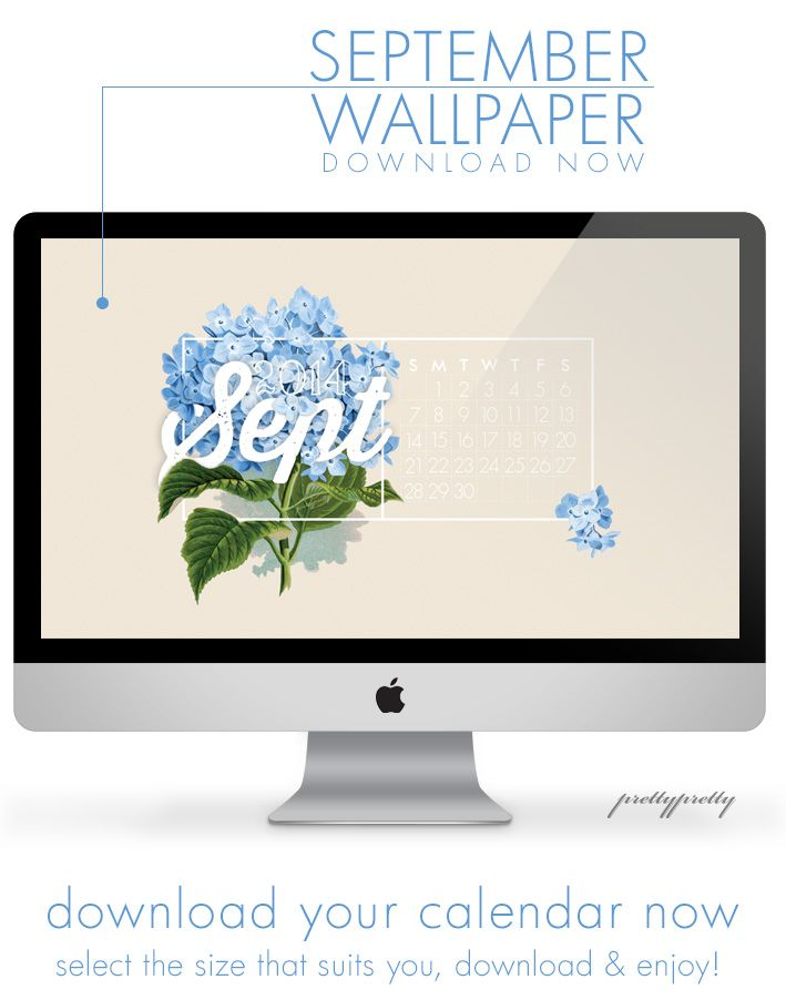 Free Calendar Wallpaper September : Free september desktop wallpaper calendar pretty