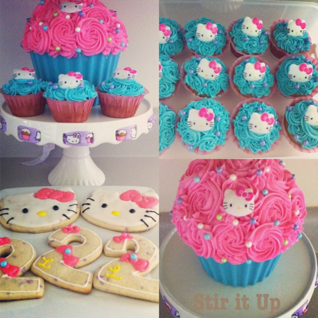 Hello Kitty Party #first baby #first birthday :D