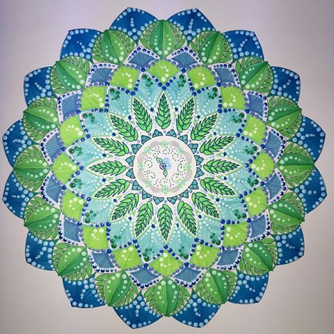Mandala From Animal Kingdom A Milliemarotta Coloring Book Animalkingdom
