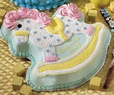 baby boy rocking horse | ... !: FABULOUS BABY DELIGHTS for Baby Showers & Full Moon Parties