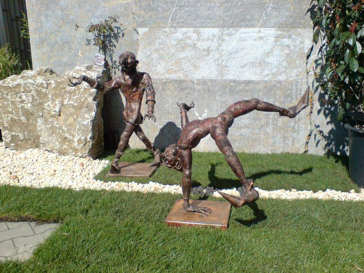 Kupferskulpturen