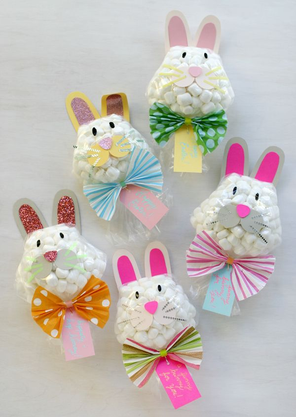 Funny Bunny Easter Favors