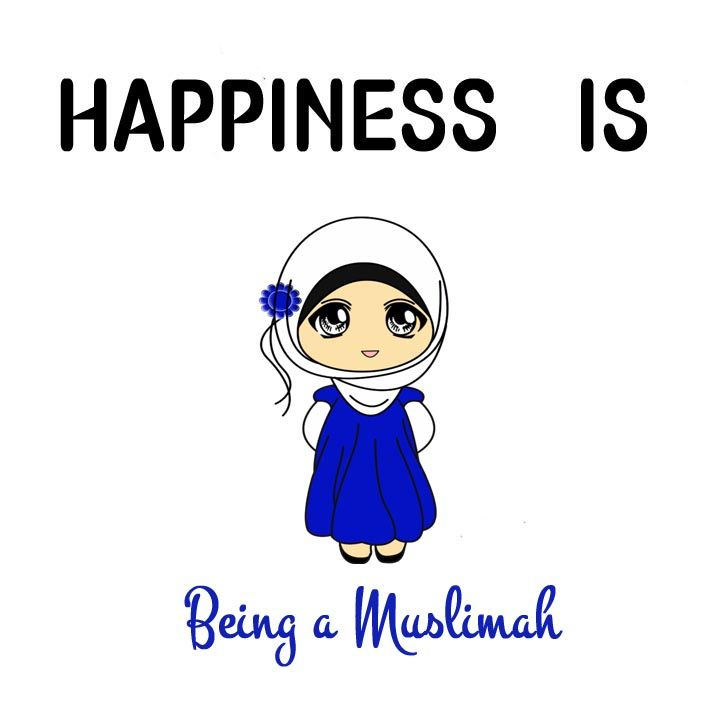 Happiness is …. ♥ ☘ For More Stuff  islamic quotes ☘ ♥