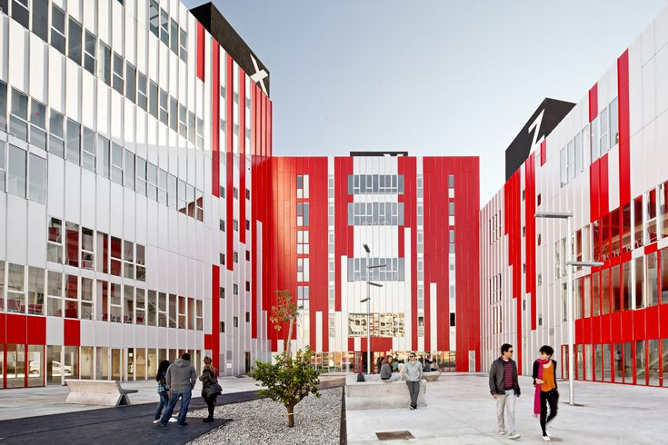 Image 2 of 15 from gallery of University Housing, Gandía / Guallart Architects.