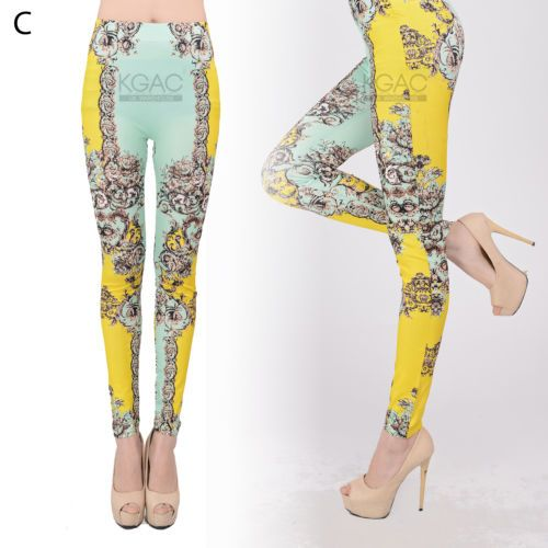 Womens Fashion leggings jeans jeggings fashion ladies kneepad skinny