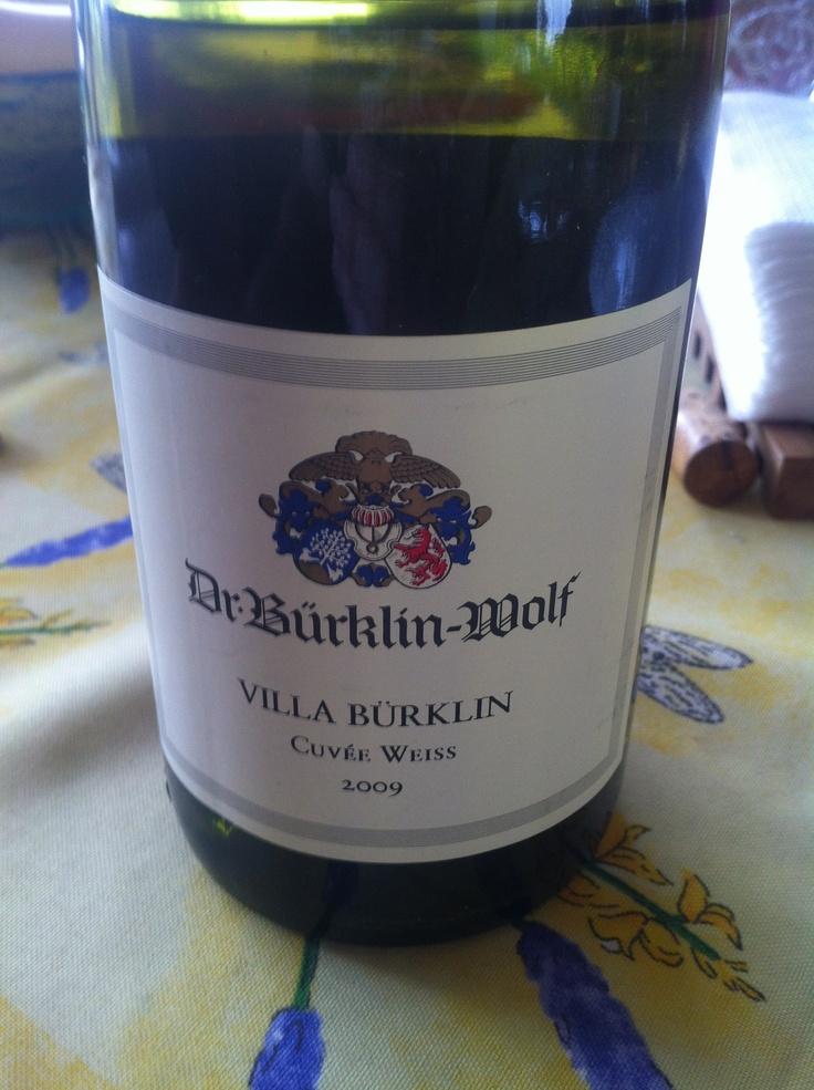 Dr. Bürklin-Wolf Villa Bürklin Cuvée Weiss 2009