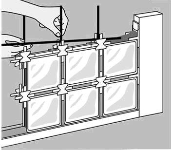 M s de 25 ideas incre bles sobre ladrillos de vidrio en pinterest - Como colocar ladrillos de vidrio ...