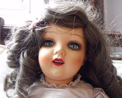 "vintage 19"" celluloid ASK doll, Made in Poland (06/06/2011)"