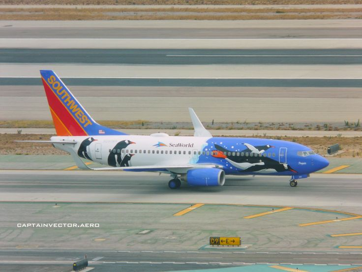 Southwest 737 Rare Livery At Klax Rmc Fixed Wing