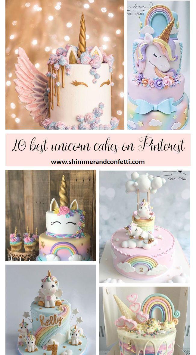 Die 10 Magischsten Einhorn Kuchen Ideen Auf Pinterest Auf Die Einhornkuchenideen Magischsten Pinte In 2020 Unicorn Birthday Cake Unicorn Cake Birthday Party Cake