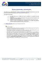 GAYRAUD DOMINIQUE ELECTIONS PROFESSIONNELLES Fonction Publique territoriale