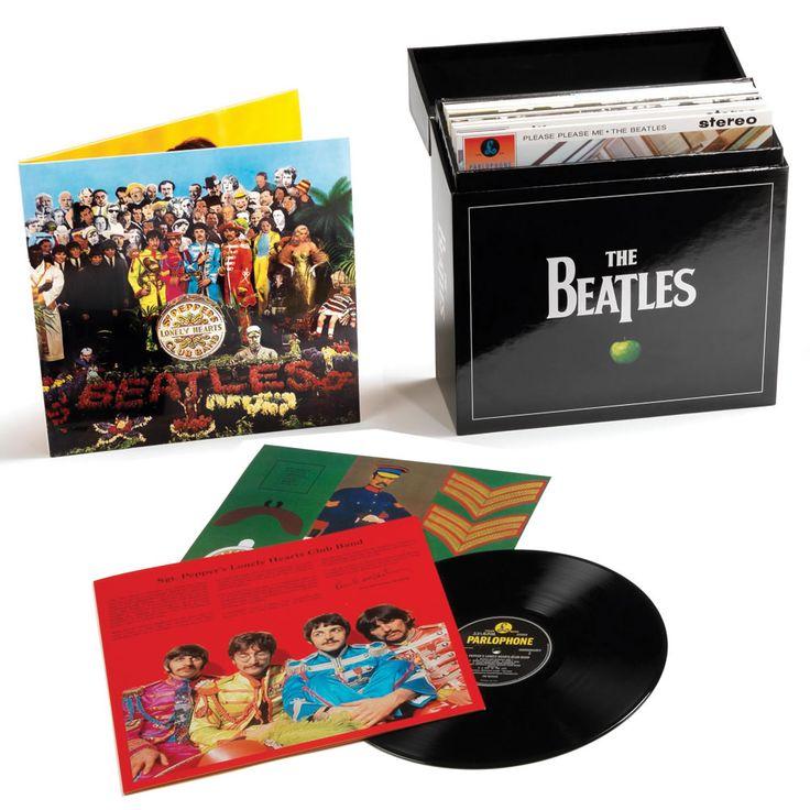 The #Beatles' Limited Edition Vinyl Studio Albums Collectors Set