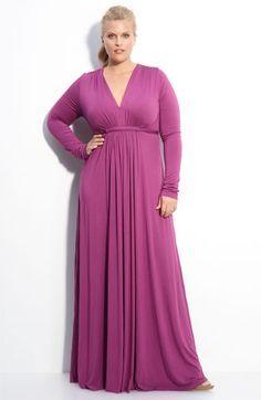 Rachel Pally Long Sleeve Maxi Dress (Plus)