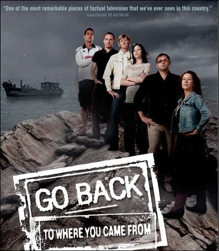 'Go back to where you came from': Can a TV series change the debate on asylum seekers?