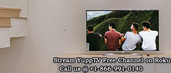 YuppTV Roku | Rokucomlink Account | Tv channels, Flat screen, Channel