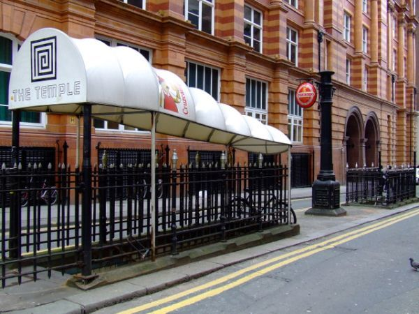 One of my favourite bars - The Temple: the Victorian Urinal that became a Quirky Bar (in Manchester, UK)