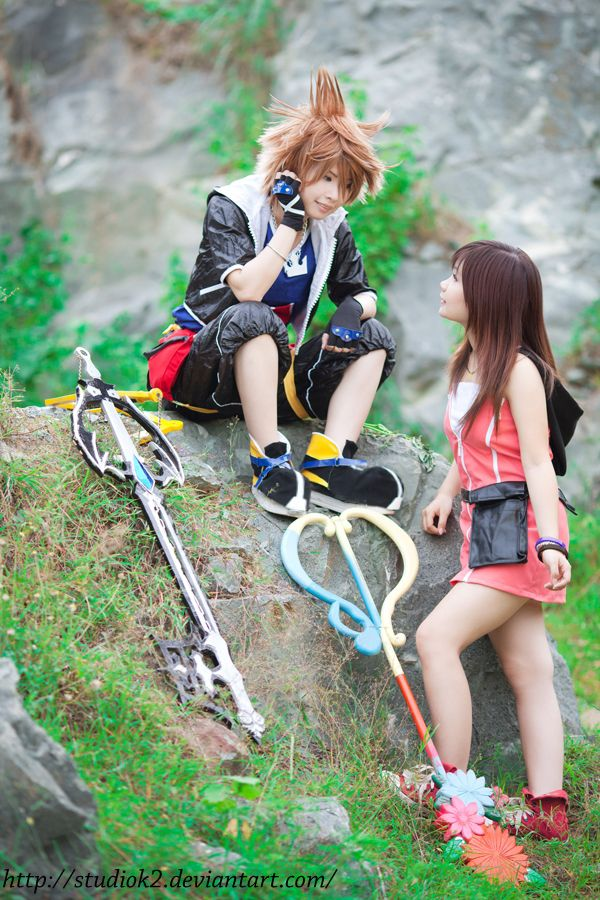 Sora n Kairi by studioK2 on DeviantArt