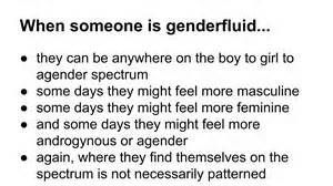genderfluidity explained - term 'genderflux' refers to a shift in gender intensity + can also be thought of as genderfluidity between agender & some other gender