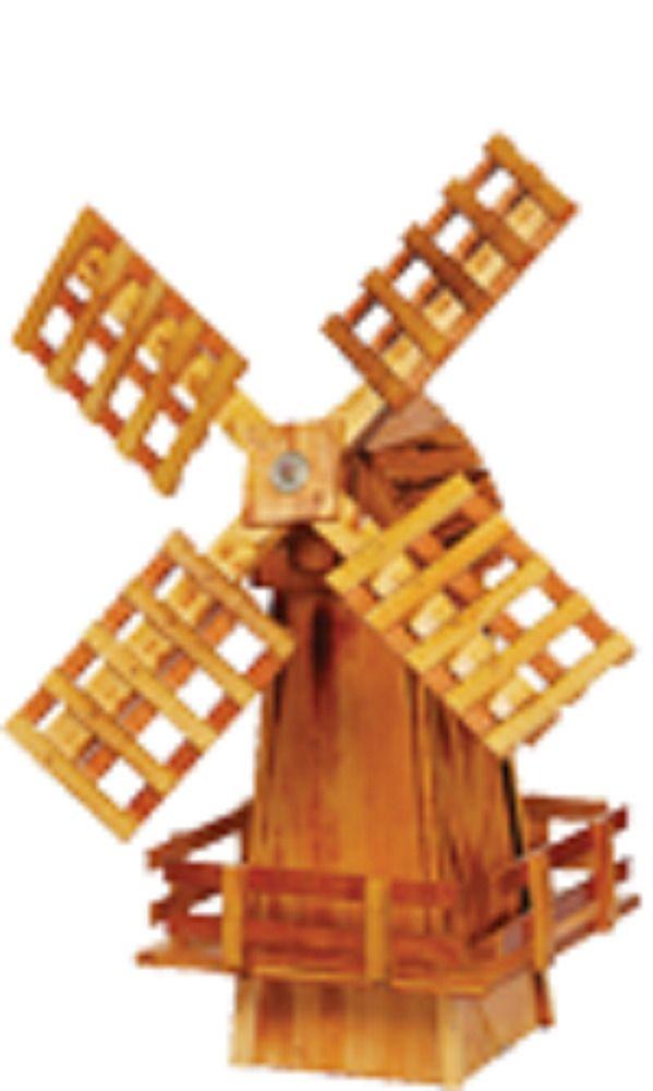 wooden Garden windmill- made in USA NEW #Handmade