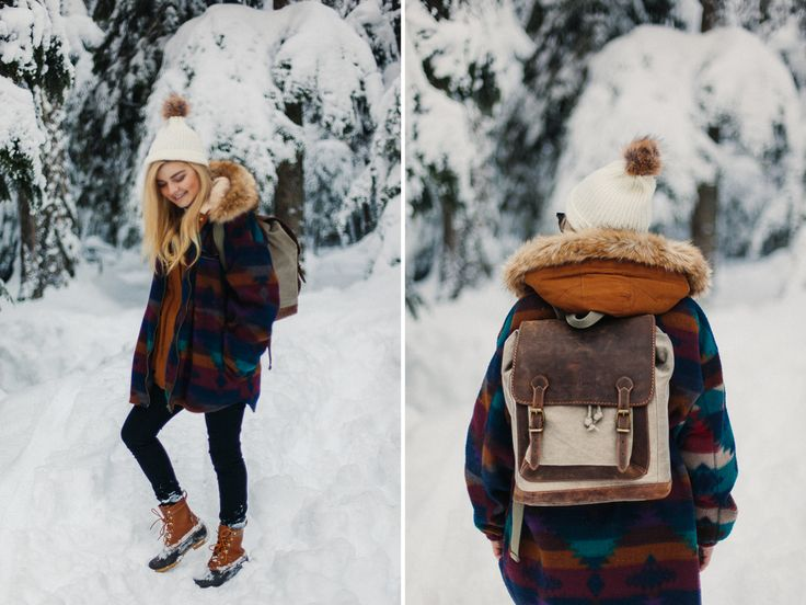 jessica whitaker photography mountain fashion. ll bean boots x parka x vintage urban outfitters jacket x lots of snow.  click here to learn how to shoot self portraits in public + read my kelly moore camera bag pilot backpack review: http://www.jessicawhitaker.co/blog/2016/1/4/personal-style-crystal-mountain-x-january-2-2016