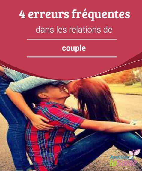 4 erreurs fréquentes dans les #relations de #couple Bien que chaque #personne exprime son #amour de façon différente, #l'affection ne se montre pas qu'avec les mots.