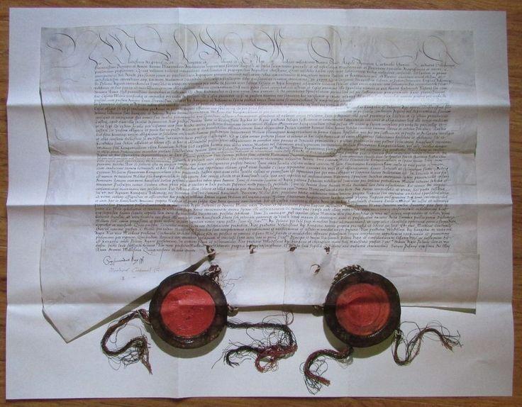 Faksimile VERTRAG ÜBER DOPPELHOCHZEIT ZWISCHEN MAXIMILIAN I und WLADISLAW II