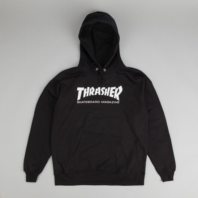 Thrasher Skate Mag Logo Hooded Sweatshirt Black | @giftryapp
