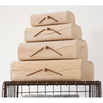 birch storage boxes