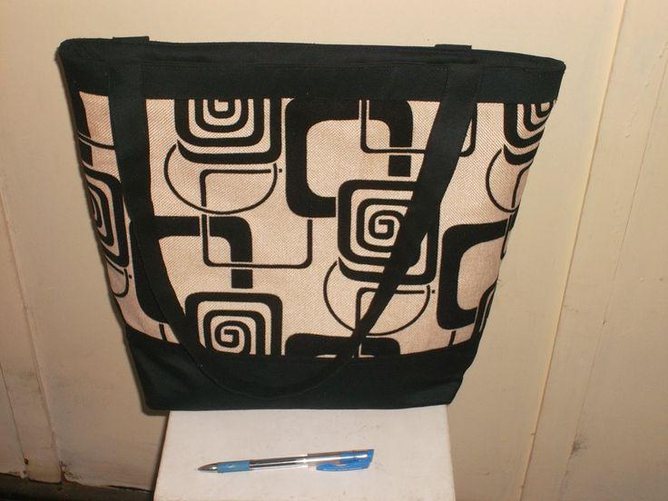 100% cotton handbag