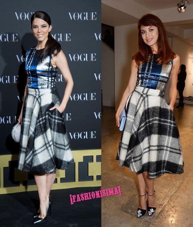 Vestido de Christian Dior: ¿Juana Acosta u Olga Kurylenko?