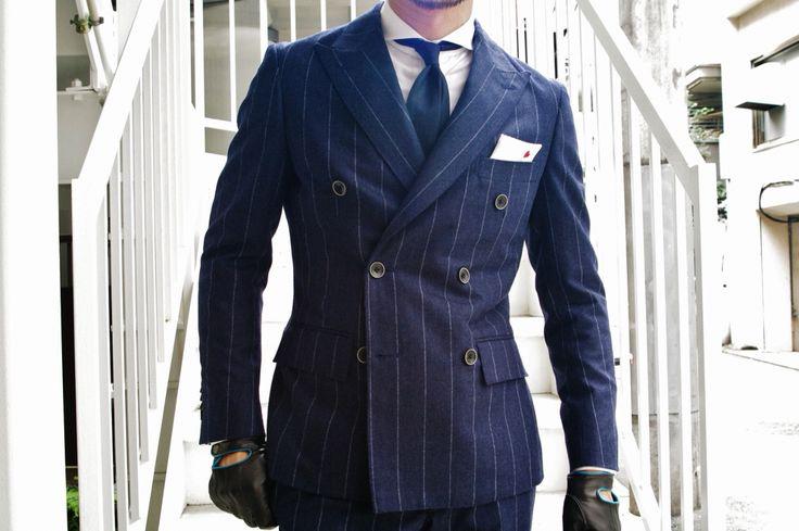 2015AW ダブルブレステッドスーツ・・
