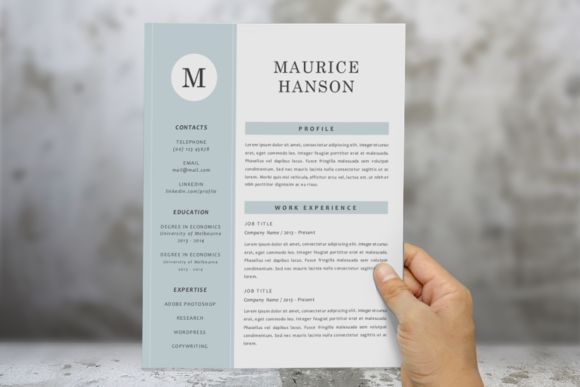 148 best Resume Template Indesign images on Pinterest Resume - resume 1 or 2 pages
